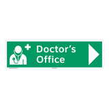 Doctors Office Sign (F1059-)