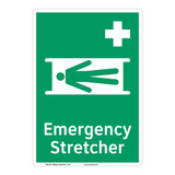 Emergency Stretcher Sign (F1063-)