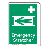 Emergency Stretcher Sign (F1063F-)