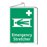 Emergency Stretcher Sign (F1063P-)