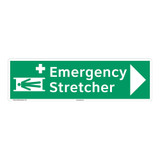 Emergency Stretcher Sign (F1064-)