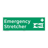 Emergency Stretcher Sign (F1066)