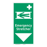 Emergency Stretcher Sign (F1067-)