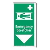 Emergency Stretcher Sign (F1067F-)