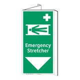 Emergency Stretcher Sign (F1067P-)