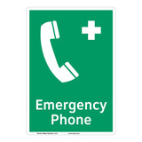 Emergency Phone Sign (F1068-)