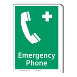 Emergency Phone Sign (F1068F-)