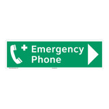 Emergency Phone Sign (F1069-)