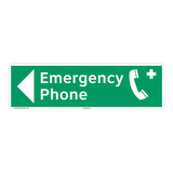 Emergency Phone Sign (F1070-)