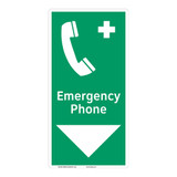 Emergency Phone Sign (F1072-)