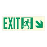 Exit Sign (F1076)