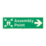 Assembly Point Sign (F1088-)