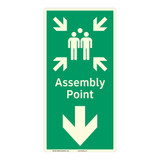 Assembly Point Sign (F1091-)