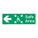 Safe Area Sign (F1094-)