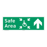 Safe Area Sign (F1095-)