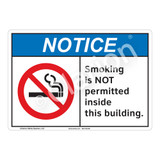 Notice Smoking Sign (F1107-)