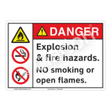 Danger/Explosion Sign (F1158-)
