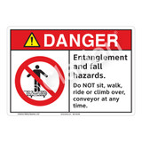Danger Entanglement Sign (F1223-)