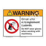 Warning Crush Sign (F1224-)