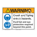 Warning Crush Sign (F1225-)
