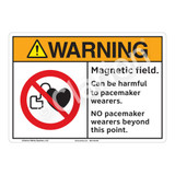 Warning/Magnetic Field Sign (F1235-)