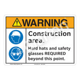 Warning/Construction Area Sign (F1249-)