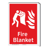 Fire Blanket Sign (F1271F-)