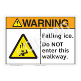 Warning/Falling Ice Sign (F1278-)