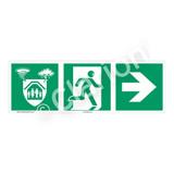Storm Shelter Sign (F1305-)
