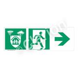 Storm Shelter Sign (F1306-)