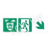 Storm Shelter Sign (F1308-)