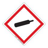 Gas Cylinder Label (GHS6243-)