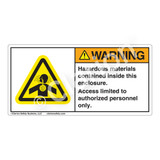 Warning/Poisonous Fumes-Toxic Gas Label (H4006-Y6WH)