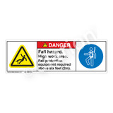 Danger/Fall Hazard Label (H5079/6144-179DH)