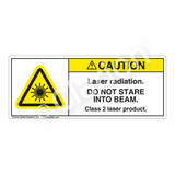 Caution/Laser Radiation Label (H6003-101CH)