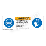 Warning/Skin Irritation Label (H6031/6033-204WH)