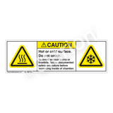 Caution/Hot Or Cold Surface Label (H6043/6044-681CH)