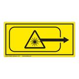 Laser Aperture Label (IEC0002-H)