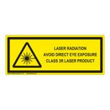 Class 3R Laser Product Label (IEC-6003-E66-H)