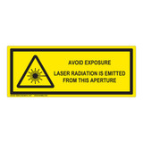 Avoid Exposure Label (IEC-6003-E71-H)