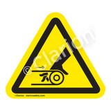 Hand Entanglement/Belt Drive Label (IS1010-)