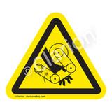 Hand Crush/Robot Label (IS1117-)