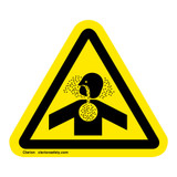 Toxic Gases/Asphyxiation Label (IS4006-)
