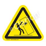 Body Crush/Tipover Hazard Label (IS5135-)