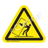 Body Crush/Tipover Hazard Label (IS5157-)