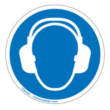 Wear Ear Protection Label (IS6030-)