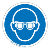 Wear Eye Protection Label (IS6031-)