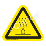 Hot Liquids Label (IS6068-)