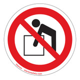 Do Not Lift Label (IS6084-)