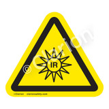 Invisible Radiation Label (IS6122-)